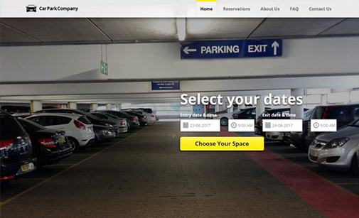 Car Parking Website