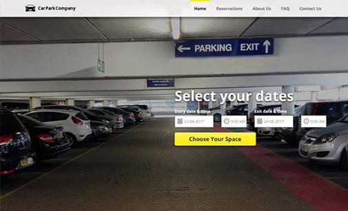 Car Parking Website