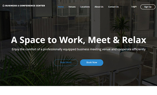 Meeting Room Website