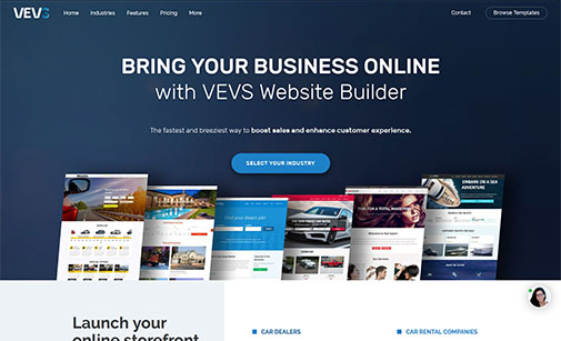 VEVS Website Builder