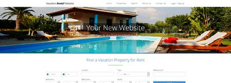 Ready-made Vacation Rental Websites