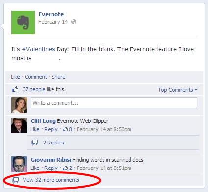 Engaging facebook posts: fill in the blank