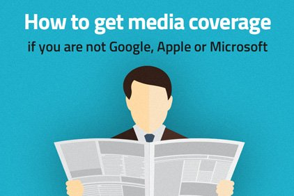 [Infographic] How To Get Media Coverage For Your Small Business