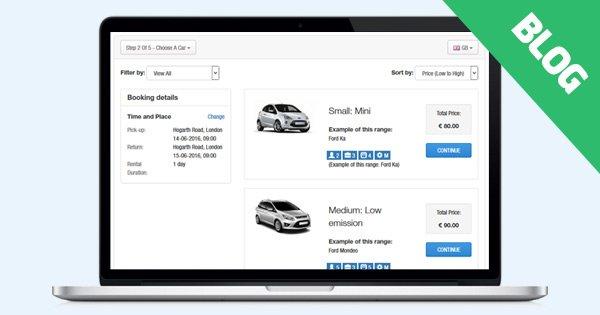Minor Update: Car Rental Script 2.1