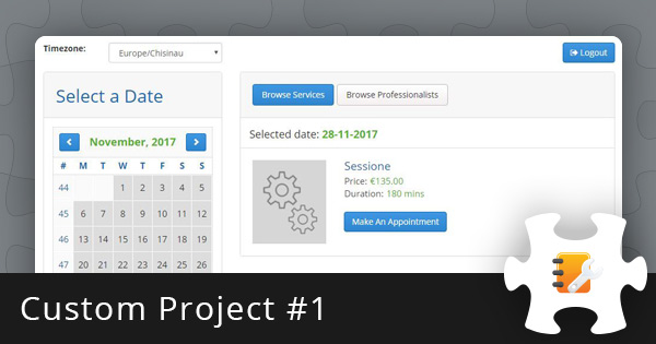 Custom Project #1: Appointment Scheduler