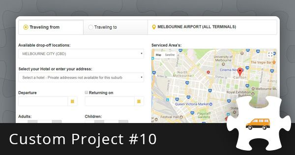 Custom Project #10: Shuttle Booking Software