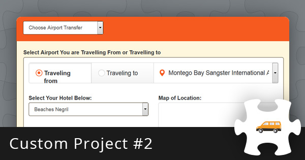 Custom Project #2: Shuttle Booking Software