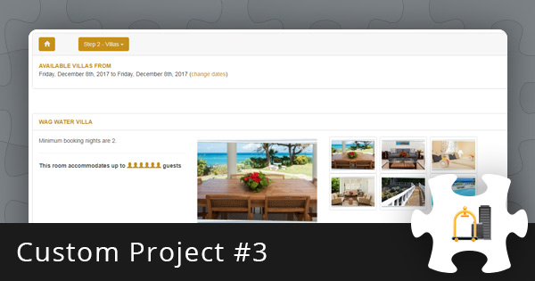 Custom Project #3: Hotel Booking System