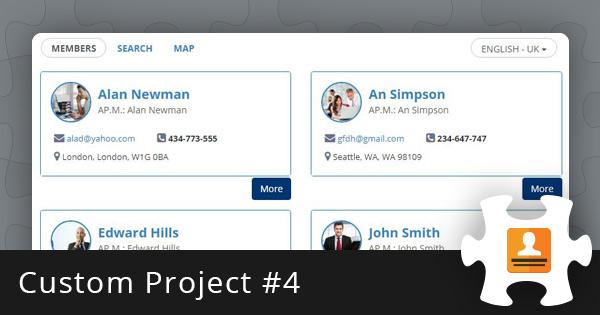 Custom Project #4: Member Directory Script