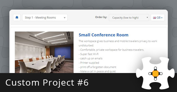 Custom Project #6: Meeting Room Booking System