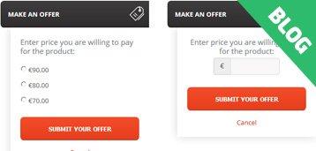 Make An Offer Widget: How Much You Can Get?