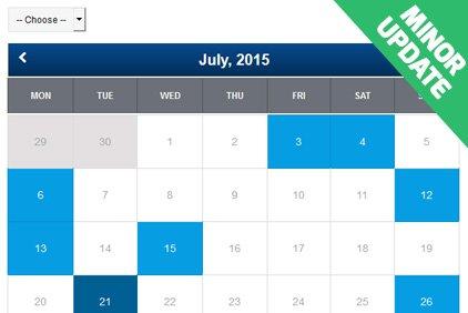 Changelog in PHP Event Calendar v3.1
