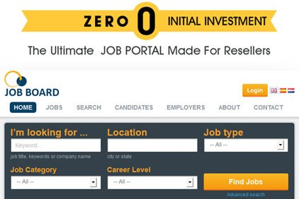 Reseller Solution For Job Agency Website Design