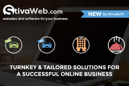 New: StivaWeb - Websites and Software for Your Business