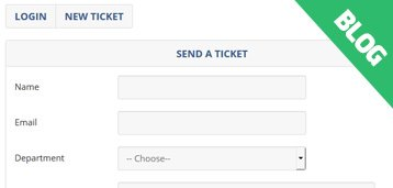 Minor Update: Ticket Support Script 3.1