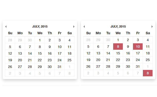 Free Availability Calendar | PHP Calendar Script | PHPJabbers