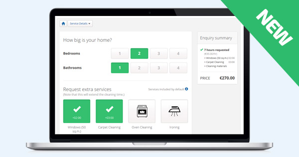 New: Cleaning Business Software