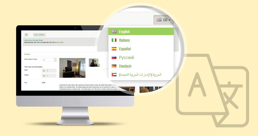 Hotel Booking System: Language Plugin Update