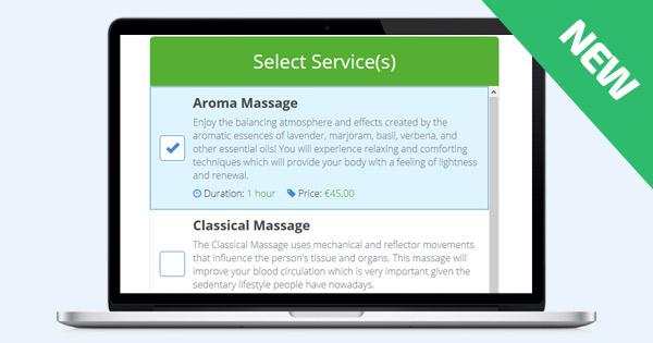 New: Service Booking Script