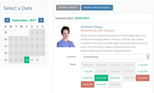 Appointment Scheduler | Appointment Scheduling Software | Phpjabbers