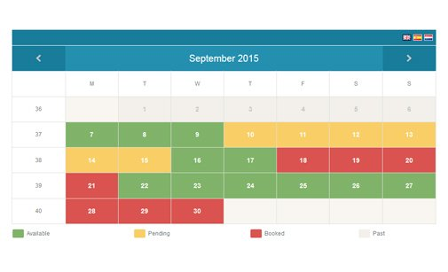 Availability Calendar Script