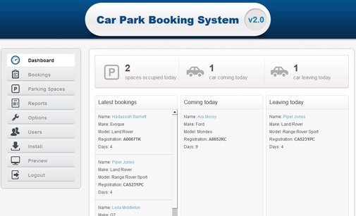 Car Park Booking System Parking Reservation System
