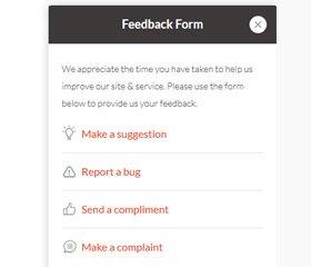 Feedback Form Script Demo 1