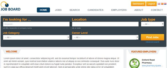 Job Portal Website Demo 1