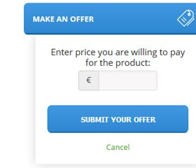 Make An Offer Widget Demo 2