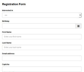 PHP Contact Form Generator Demo 2