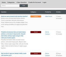 PHP Forum Script Demo 1