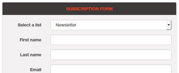 PHP Newsletter Script Demo 1