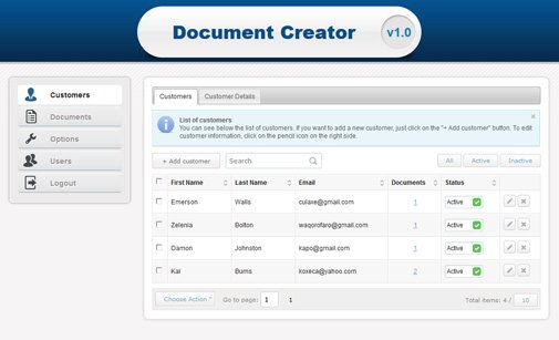 Document Creator