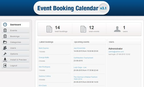 Online Event Booking System