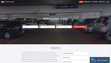 Create your Car Parking Website!