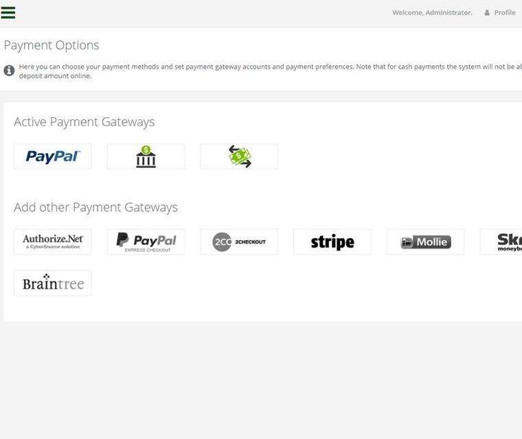 Car Rental Online Payments