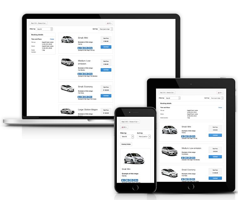 Car Rental Responsive Design