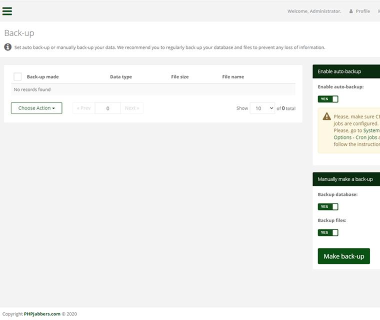 Cark Park Booking System Backup