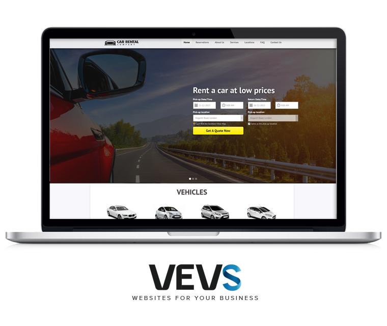 Rentals Websites: Car Booking System