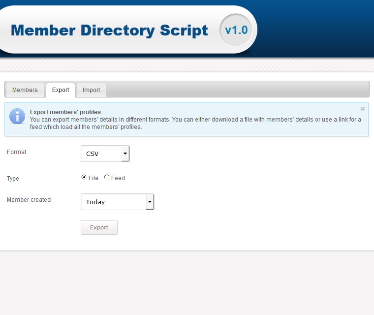 Export And Import Member Profiles And Listings