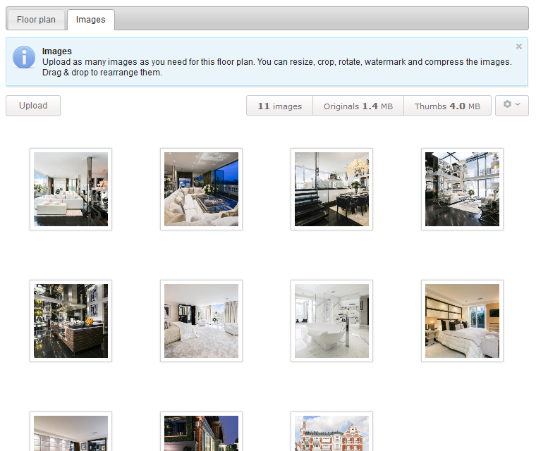 Interactive Floor Plan Add A Photo Gallery To Each Floor Plan Map