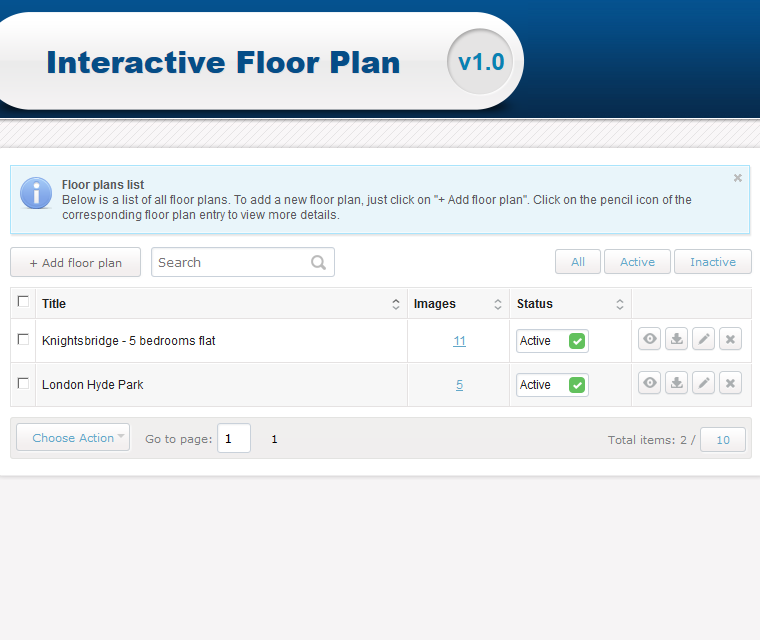 Create interactive floor plan gurus floor for Interactive home plans