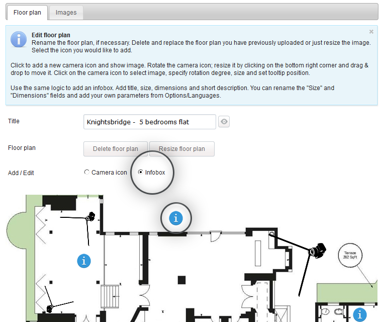 Interactive floor plan software features for Interactive floor plan software