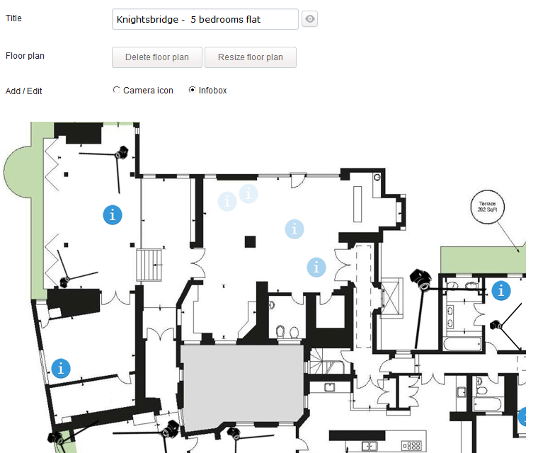 Interactive Floor Plan Place Info Icons Wherever You Need On The Floor Plan Or Map