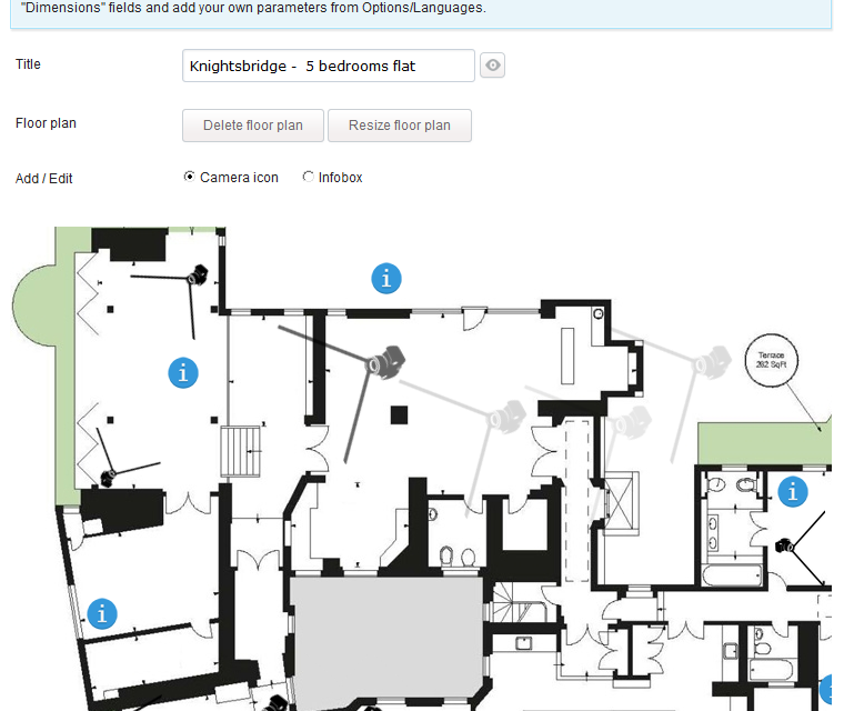 Interactive floor plan software features for Interactive floor plans