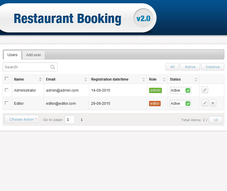 restaurant reservation system One of the best booking systems and table planners for restaurants sms notifications and much more only 70 usd/month one month free trial - try now.