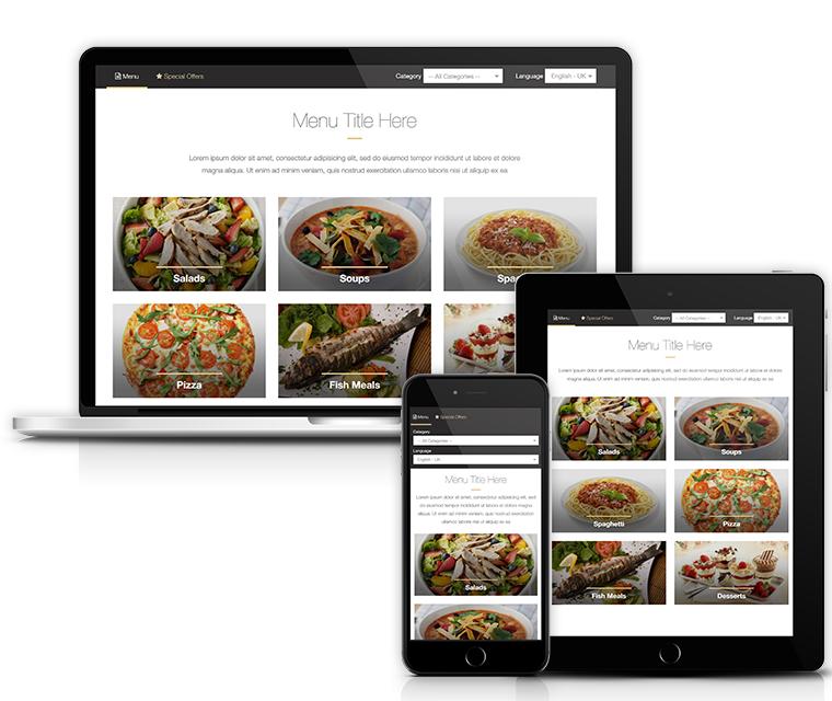 10 menu color themes