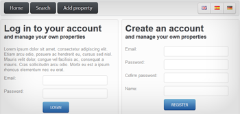 Add property to property rental software