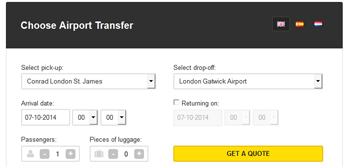 Transfer reservations system