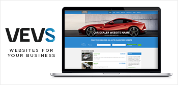 Ready-made car dealer websites